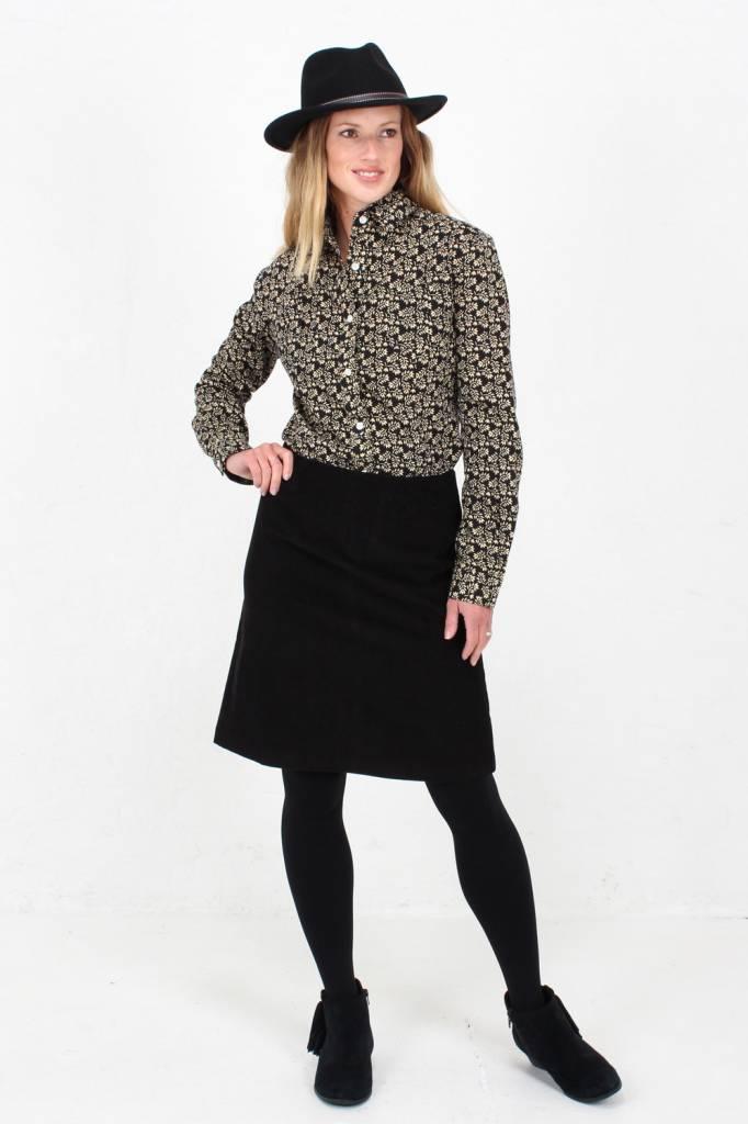 JABA Jaba Lora Skirt in Black Cord