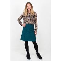 Jaba Lora Skirt in Teal Cord
