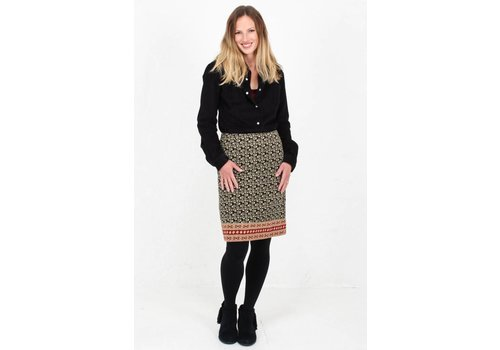 JABA JABA Lora Skirt in Winter Black