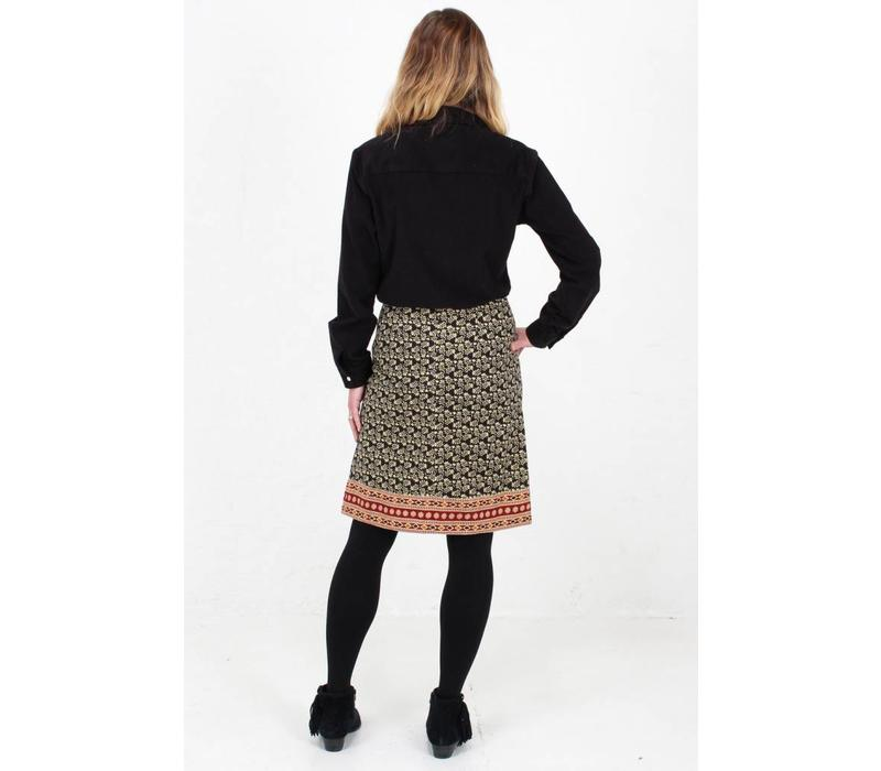 JABA Lora Skirt in Winter Black
