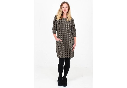 JABA JABA Sadie Dress in Winter Black