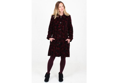 JABA JABA Embroidered Velvet Coat