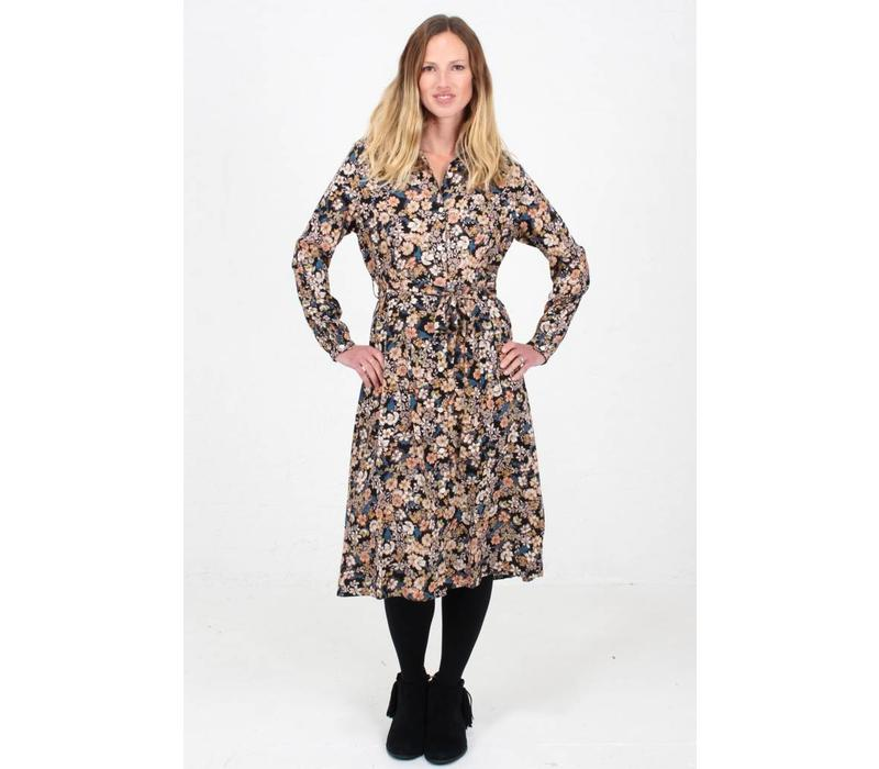 JABA Julia Dress in Winter Flower
