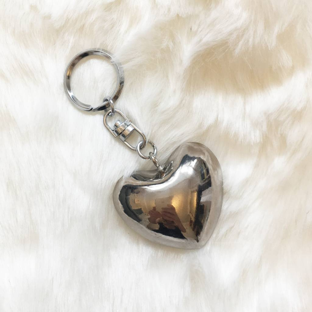 STONE THE CROWS Heart Keyring
