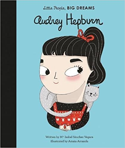 BookSpeed Little People Big Dreams AUDREY HEPBURN