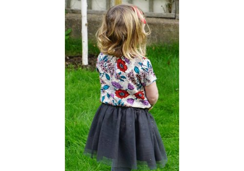 JABA Jaba Kids Nancy Top in Wild Meadow