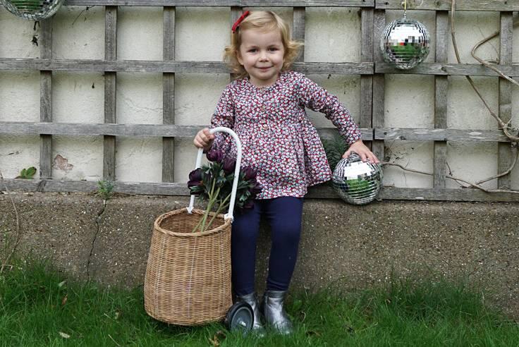 JABA Jaba Kids Harriet Top in Little Flowers