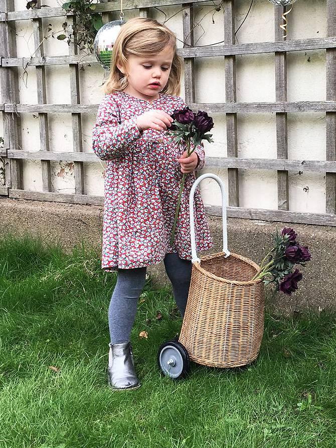 JABA Jaba Kids Tabitha Dress in Little Flowers