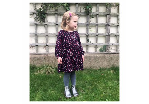 JABA Jaba Kids Phoebe Dress in Spot Print
