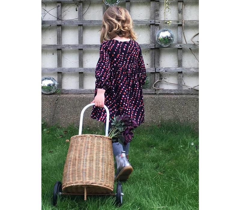 Jaba Kids Phoebe Dress in Spot Print