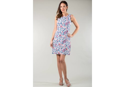 JABA JABA Nicole Dress in Pink Block