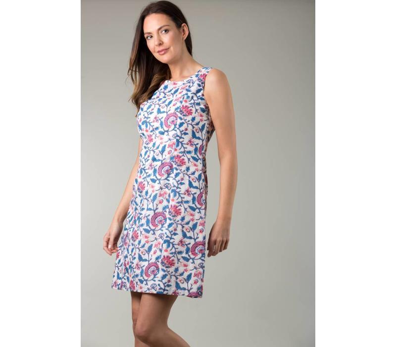 JABA Nicole Dress in Pink Block