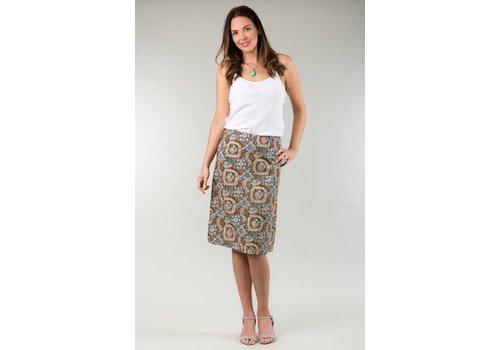 JABA Jaba Lora Skirt in Aztec