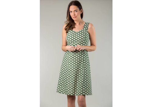 JABA Jaba Sun Dress in Cog Green