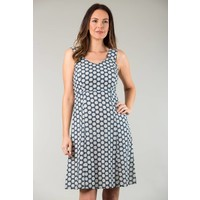 JABA Sun Dress in Cog Blue