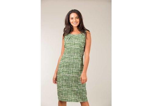 JABA Jaba Emily Dress in Green Grid