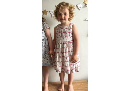 JABA Jaba Kids Amelie Dress in Umbrella Prints