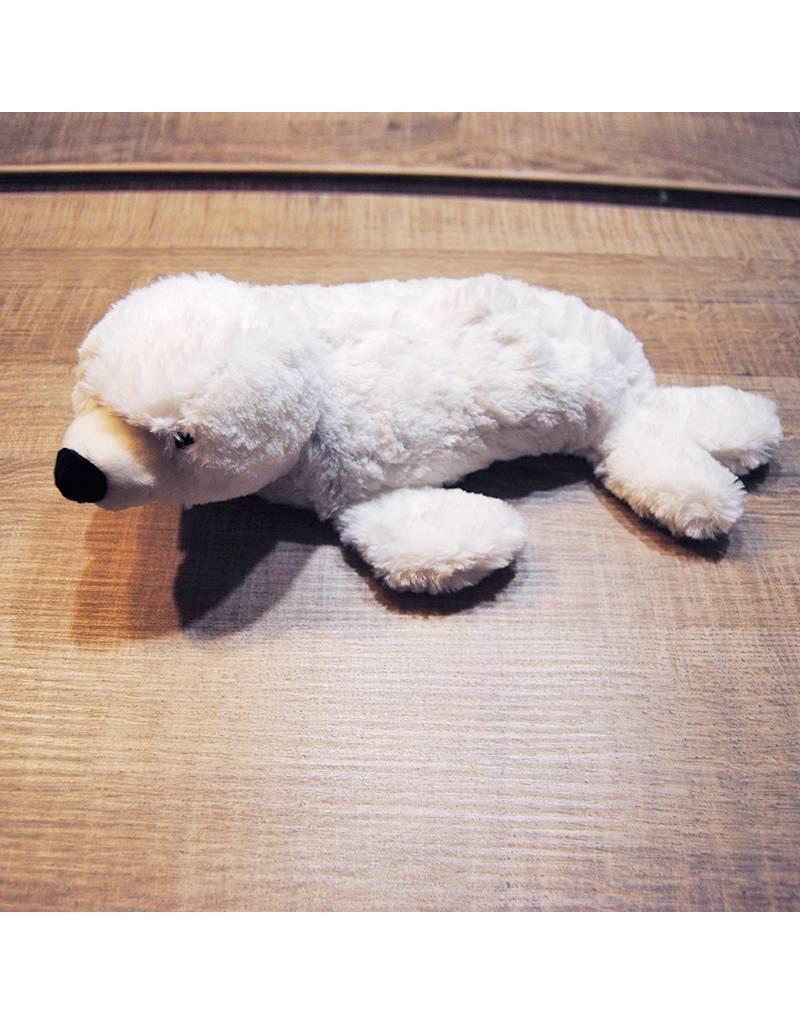 Pelucho Lavendel warmteknuffel zeehond