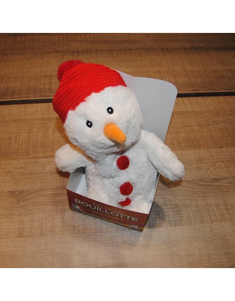 Pelucho Lavendel warmteknuffel sneeuwman