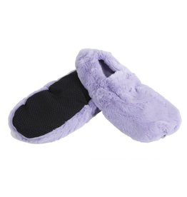 Pelucho Lavendel warmtekussen pantoffels - paars