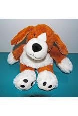 Pelucho Lavendel warmteknuffel hond