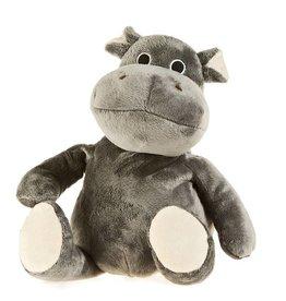 Pelucho Lavendel warmteknuffel nijlpaard