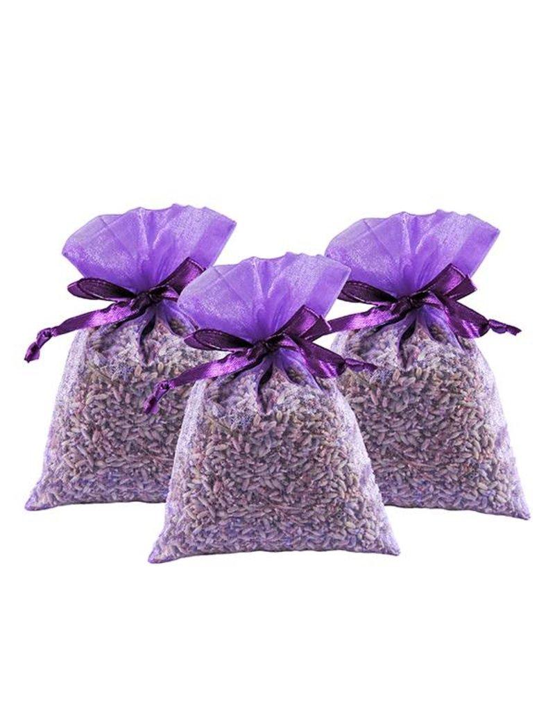 Beaux Yeux Geurzakje Lavendel 20g - organza (3 stuks)