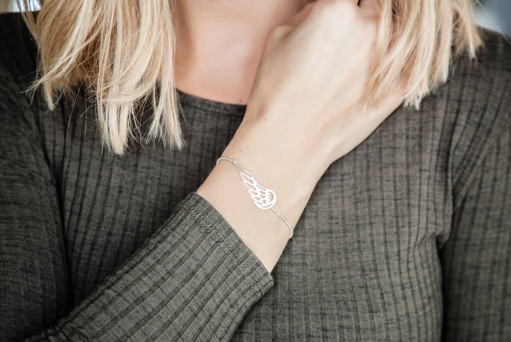 """""""ANGEL"""" bracelet / silver"""
