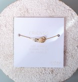 """ANGEL"" bracelet / golden"