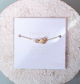 """FRIENDS """"ANGEL"""" Armkettchen / Gold"""