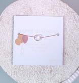 """""""CIRCLE"""" - Bracelet - Rose"""