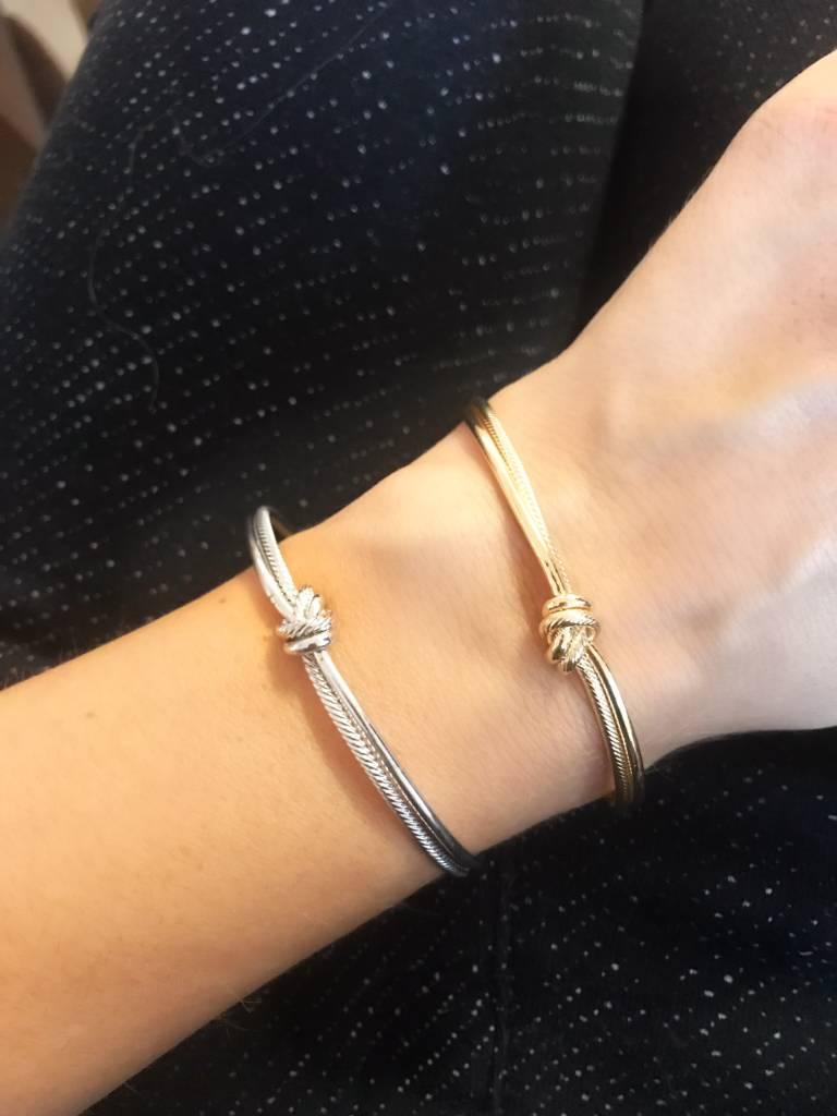 One Knot - Armreifen - GOLD