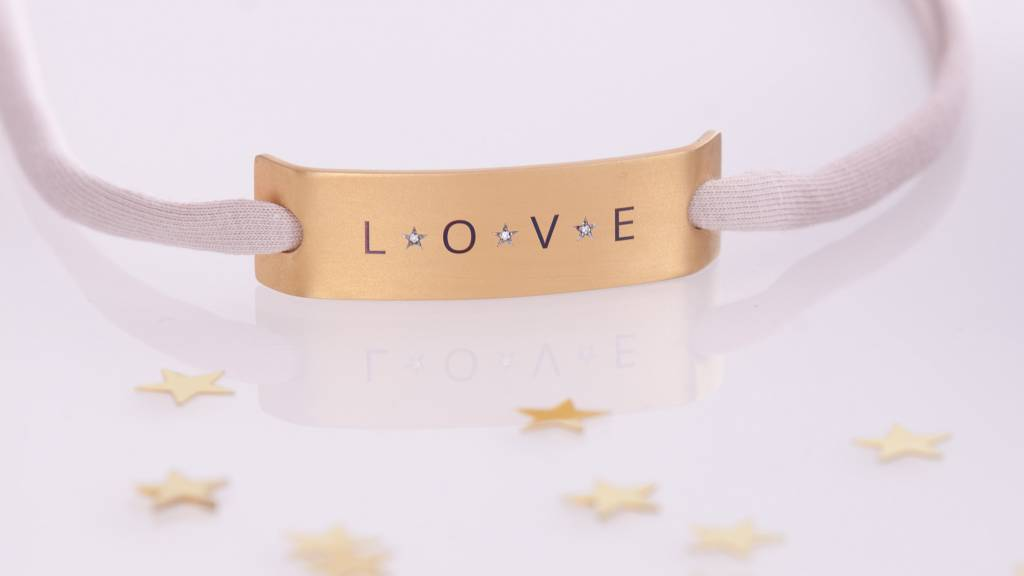 "DIAMOND EDITION : ""LOVE""  GOLD"