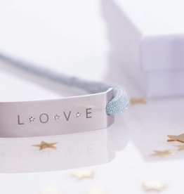 "DIAMOND EDITION : ""LOVE""  SILVER"
