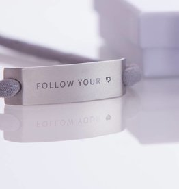 "DIAMOND EDITION : ""FOLLOW YOUR HEART"" SILBER"