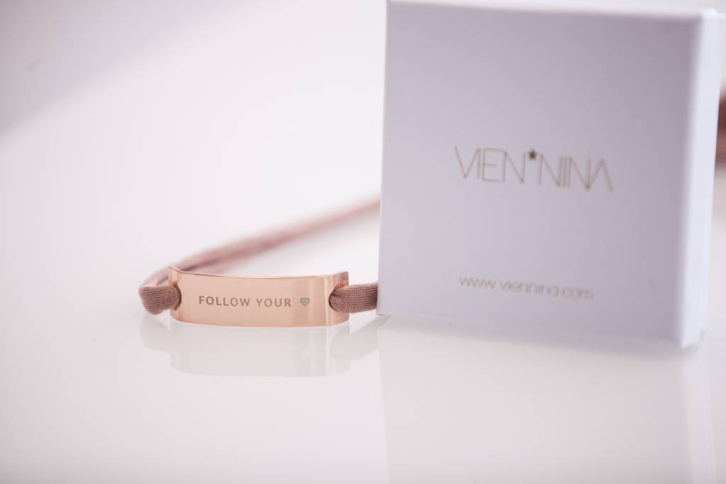 "GLOSSY ROSEGOLD: ""FOLLOW YOUR HEART"""