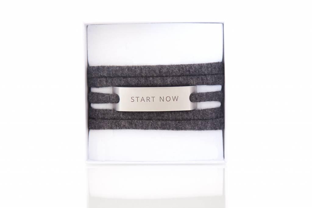 START NOW - silber