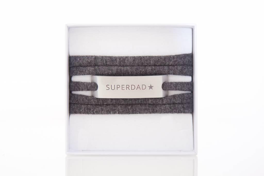 SUPERDAD - silber