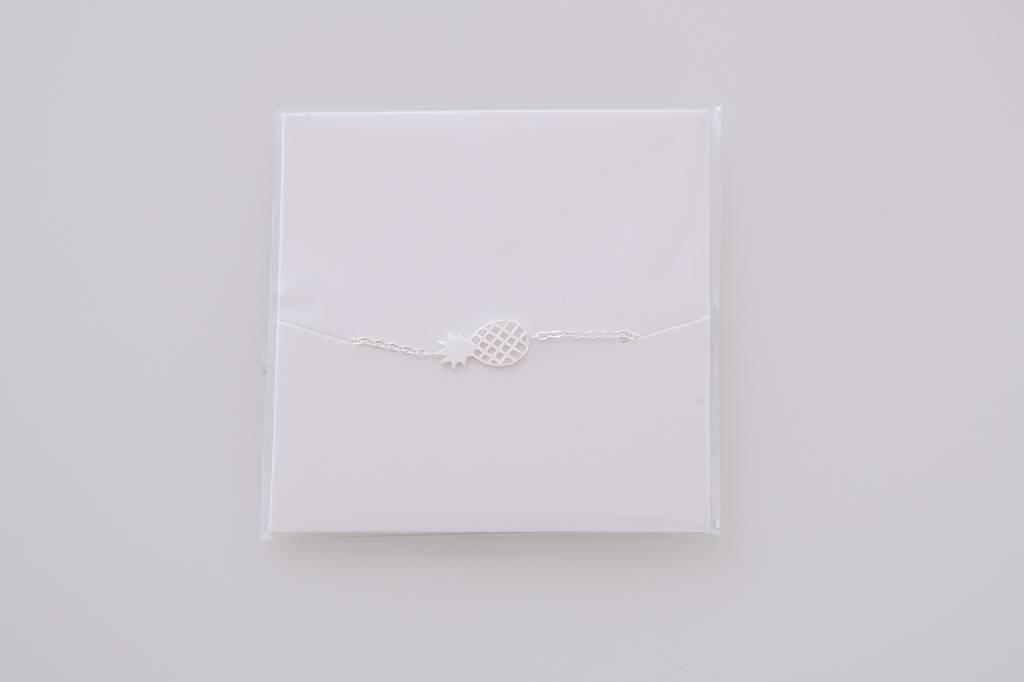 PINEAPPLE bracelet silver