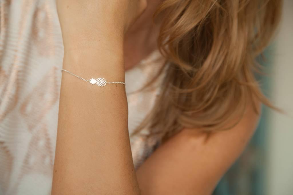 PINEAPPLE Armkettchen silber