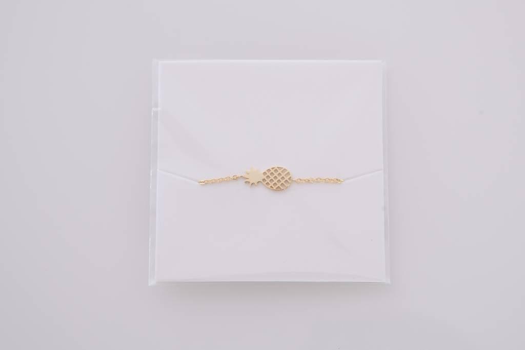 PINEAPPLE bracelet golden
