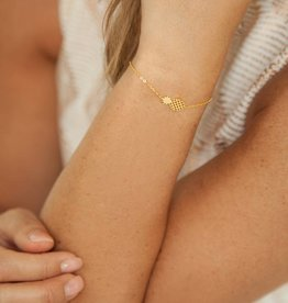 PINEAPPLE bracelet golden