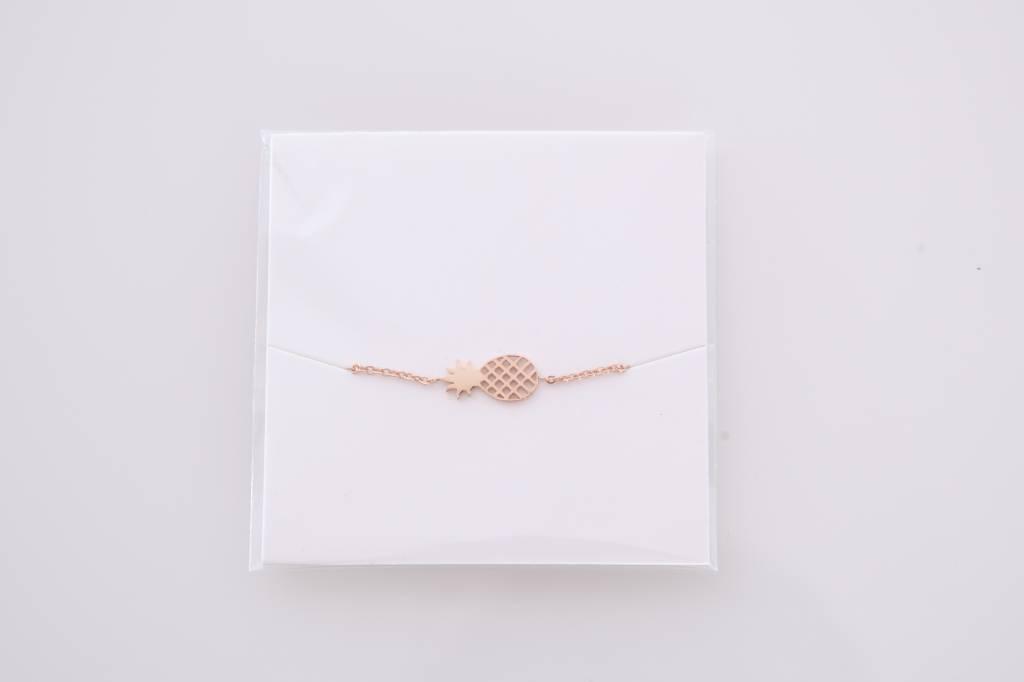 PINEAPPLE bracelet rose
