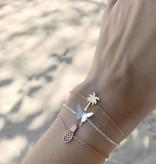 PALM TREE bracelet golden