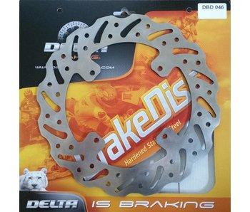 Delta Braking Remschijf - TM 2005-..... ACHTERKANT