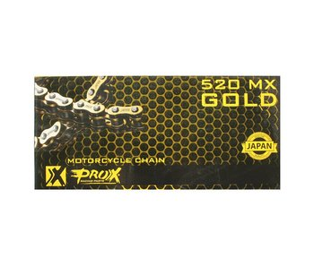 ProX Racing Ketting 520 Gold