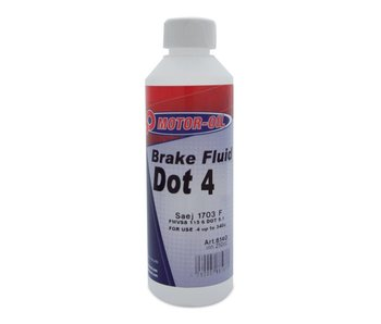 BO Motor Oil Brake Fluid DOT 4 - 250ML