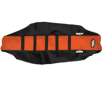 Motoseat Seatcover KTM 250 / 450 FE 15 / SXF 16-17 Orange/Black