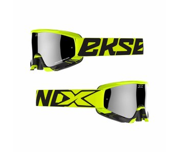 EKS Brand GOX CROSSFADE Flo Yellow/ Black
