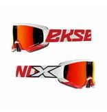EKS Brand GOX CROSSFADE White/ Red
